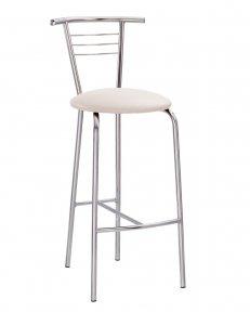 Барний стілець TINA hoker chrome