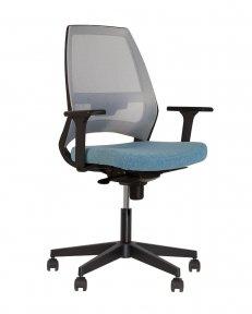 Крісло офісне 4U R 3D net black ES PL70 з «Синхромеханiзмом»