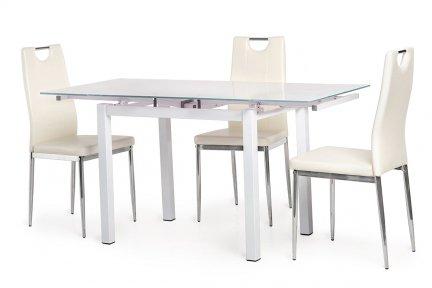 Обідній стіл T-231-8 білий