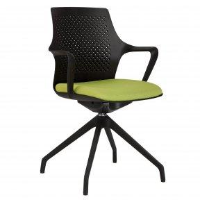 Крісло офісне GEMINA black SWG PL68-4S