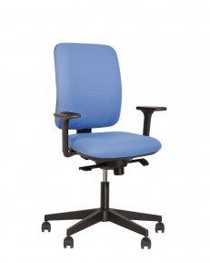 Крісло офісне NAVIGO R black ST PL70 з «Синхромеханiзмом»