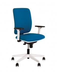 Крісло офісне SMART R white-black ES PL71